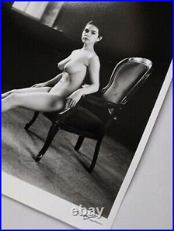 Sensual portrait by Pavel Apletin silver gelatin signed limited edition Fine art
