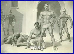 Slave Market by George Quaintance original Photo, Vintage Male Beefcake, Rare