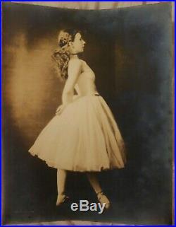 Soichi Sunami after Degas photo dancer Agnes De Mille 1930s blindstamp signed