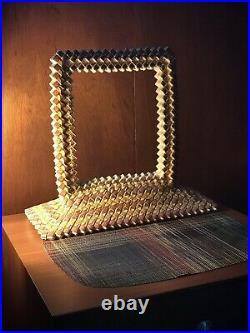 Spectacular Folk Tramp Or Prison Art Frame Folded Camel Cigarette Packages