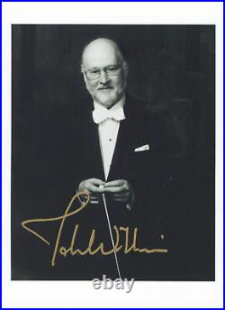 Star Wars John Williams Authentic Signed 5x7 Black & White Photo BAS #A48582