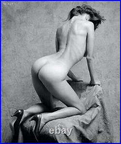 Studio Nudes 1989-1992 B&W Art Photo Book 1st Ed + Signed Print by Craig Morey