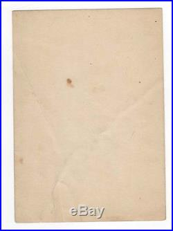 THEDA BARA Vintage Hand Signed Film Photo AUTOGRAPHED Silent Movie Portrait