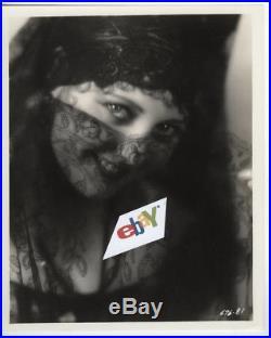THELMA TODD Alluring Portrait in Lace by E R Richee 1927 Rare Vintage Original