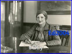 THELMA TODD Vintage Original'25 Photo DblWgt RARE Fashion Model & Teacher Days