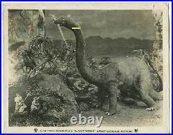 THE LOST WORLD MOVIE PHOTOS 1925, 6 Vintage DINOSAURS Arthur Conan Doyle SILENT