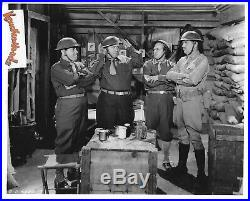 THE THREE STOOGES Vintage Original Columbia Photo MOE OWNED! Shirley Martin