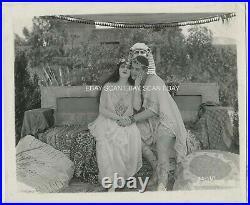 Theda Bara Cleopatra Vintage Photo 1917 Rare