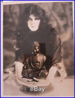Theda Bara Original Vintage 1918 Photo The Soul Of Buddha William Fox Silent