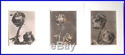 Three Margaret Bourke White Vintage 1940 Stamped PM Magazine Photos Ferns 8x10
