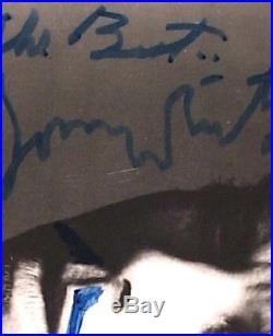 Tom Waits Signed Vintage 8 X 10 B&W Promo Photo Down By Law