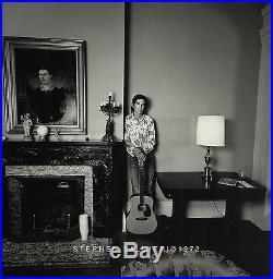 Townes Van Zandt Album Cover Photo / 8x10 B&w Vintage Silver Print / Signed