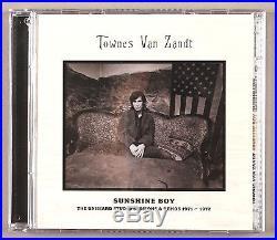 Townes Van Zandt album cover photo/8X10 B&W vintage silver print/signed original