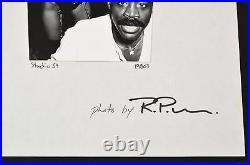 Two Large Richard P. Manning Gelatin Silver Prints, Studio 54 (Disco, Celebrity)