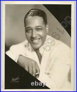 VINTAGE 1935 doubleweight JAZZ Press Photo DUKE Ellington by Maurice Chicago
