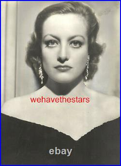 VINTAGE Joan Crawford GORGEOUS'32 POSSESSED DBW Publicity Portrait HURRELL