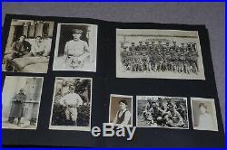 VINTAGE WWII JAPANESE MILITARY SOLDIERS B&W PHOTOGRAPH ALBUM inc KAMIKAZE JAPAN