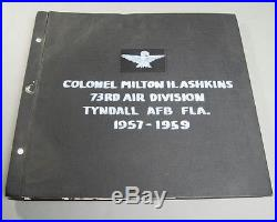 VTG 150+ Photos Album Scrap Book 1940's-1960's US Air Force Brig. General Planes