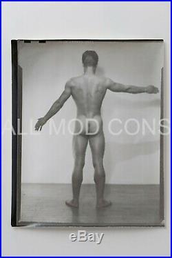 VTG 1940s LF Photo Negative & Contact Print 4 x 5 Gay Interest Pat Burnham 07-03
