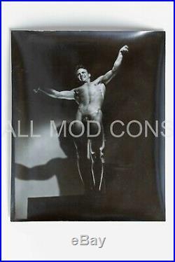 VTG 1940s LF Photo Negative & Contact Print 4 x 5 Gay Interest Pat Burnham 07-12
