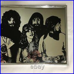 VTG 70s 1977 Fleetwood Mac Mirror Picture Wall Art 10x15 Lightline Stevie Nicks