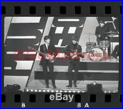 VTG Beatles Unseen Photo Negative 12/15/63 TYLS GEORGE + PAUL Rights Avail