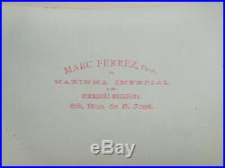 VTG Marc Ferrez Brazilian Photographer Original Albumen Photos Lot of 10