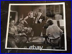 VTG Three Stooges 8 X 10 Still Dancing Lady WithTed Healy & Joan Crawford