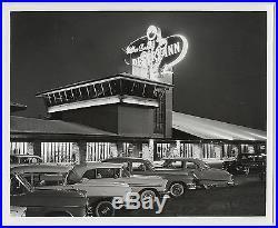 VTG Union Pacific STAMPED Wilbur Clark's Desert Inn-Las Vegas c. 1950s/60s Photo