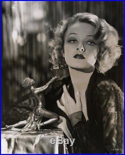 Very Risqué Gwili Andre Art Deco Incense Burner Vintage 30s Pre-Code Photograph