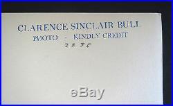 Vintage 10x13 Platinum Siren Jean Harlow Tennis Clarence Sinclair Bull Photo