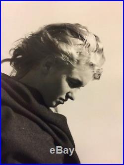 Vintage 11 X 14 Photograph Of Marilyn Monroe By Andre De Dienes 1949
