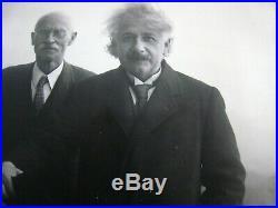Vintage 1931 Type 1 Photo 10x8.'' Albert Einstein''. Mount Wilson, Cal. # 1