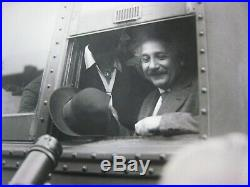 Vintage 1931 Type 1 Photo 10x8.'' Albert Einstein''. Pasadena, Cal. # 3