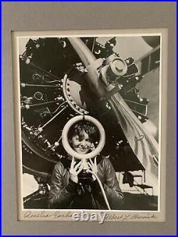 Vintage 1937 Amelia Earhart Photo Taken By Personal Photographer Albert Bresnik
