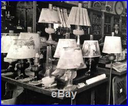 Vintage 1937 Hardware Store LARGE PHOTO Aladdin Lamp Keen Kutter Golconda IL