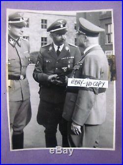 Vintage 1943 Photo. Heinrich Himmler. # 1