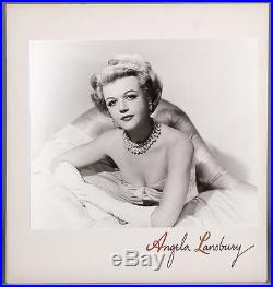 Vintage 1952 Wallace Seawell Exhibition Photograph Glamorous Angela Lansbury NR
