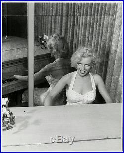 Vintage 1953 Marilyn Monroe Piano Rare Wild Photograph Bob Beerman Inkstamped