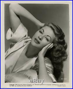Vintage 1955 Sexy Yvonne De Carlo Pin-Up Vixen Photograph Femme Fatale Beauty NR