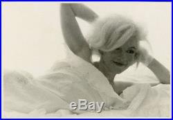 Vintage 1962 Iconic Marilyn Monroe Haunting Photograph Bert Stern Last Sitting