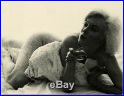 Vintage 1962 Marilyn Monroe Haunting Nude Photograph Bert Stern Last Sitting