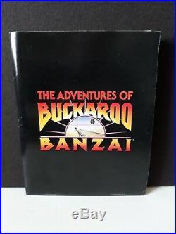 Vintage 1984 The Adventures of Buckaroo Banzai Press Release Kit with B&W photos