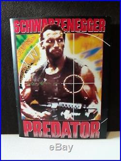 Vintage 1987 PREDATOR Press Release Kit with 10 B&W photos Arnold Schwarzenegger