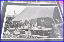 Vintage 291 BW pics photo album 1940-50s WW2 Soldiers Planes Ships Distruction