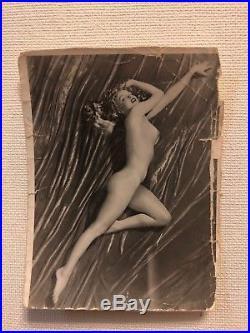 Vintage 3.75 X 3 Silver Gelatin Photo Of Marilyn Monroe By Tom Kelley1949