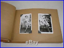 Vintage Album 48 (forty eight) Original 1950s 2.25x4 b/w Nude Photos FAB PIX