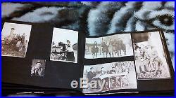 Vintage/Antique Photo Album Family-Farm-Pets-Children-Funerals-Travel-School