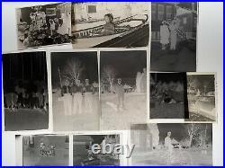 Vintage B&w Photo Film Negatives Mixed Lot Men Women Kids Swimsuits Christmas +