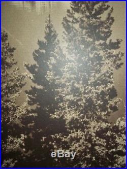 Vintage Black & White Mural PhotographJackson Lake Grand Tetons40 x 60RARE